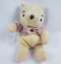 "Walt Disney Winnie the Pooh 8"" Plush Bear Classic Pooh Stuffed Animal - $10.04"