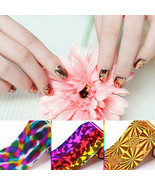 20 Sheet Mix Color Transfer Foil Nail Art Star Design Sticker Nail Polis... - $10.65