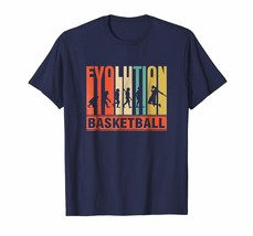 Sport Shirts - Vintage Evolution Of Basketball Funny Shirt Men - $19.95+