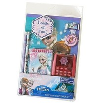 NEW NIP Disney Frozen 7 Piece Back to School Stationary Set Lots of Elsa! - $3.99