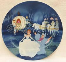 Cinderella Collectors Plate Bibbidi Bobbibi Boo Fairy Godmother Knowles ... - $14.84
