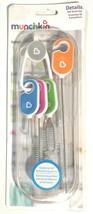 Munchkin Details Bottle & Cup Detailing Brush, 4-Piece Set Key Ring Mult... - $8.98