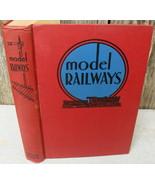 MODEL RAILWAYS Popular Science Publisher 1939 - $20.00