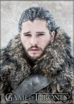 Game of Thrones Jon Snow in the North Photo Image Refrigerator Magnet NEW - $3.99