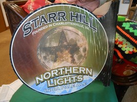 NEW-Tin Sign STARR HILL, Northern Lights INDIA PALE ALE - $22.36
