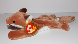 "Ty Beanie Baby Sly Plush 11"" Fox Stuffed Animal Retired with Tag 1996 - $19.99"