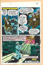 Original 1975 Phantom Stranger DC Comics color guide art:100s MOREINOURE... - $99.50