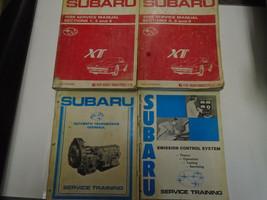 1989 Subaru Xt Service Repair Shop Manual 4 Volume Set Factory Feo Books Used - $49.44