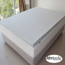 "Abripedic 2.5"" Gel Infused Memory Foam Mattress Topper Hypoallergenic Foam - $109.24+"