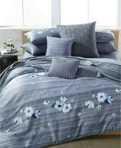 Calvin Klein Bon Aire 5P Queen Duvet Cover Shams pillow set - $310.35
