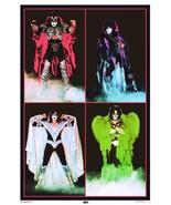 "KISS Dynasty Era 24 x 35 ""SUPER HEROES"" Custom Poster - Gene Paul Ace Peter - $50.00"