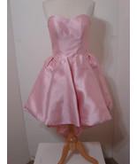 SHERRI HILL Dress Pink Strapless Sweetheart Asymmetrical Hem NWT 6 - £273.67 GBP