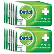 Dettol Original Soap - 75 gm (Pack of 12) Free shipping worldwide - $43.45