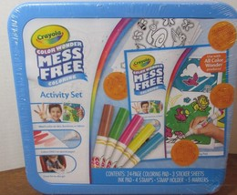 Crayola Color Wonder Mess Free Activity Set Coloring Pad Stickers Stamps... - $24.75