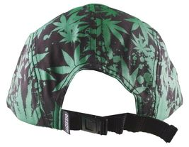 Dissizit Black Green Hawaii Pakalolo Weed Marijuana 5-Panel Strapback Hat Cap NW image 4