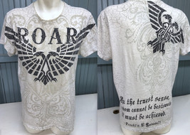 ROAR Freedom Eagle Franklin Roosevelt Quote Medium Graphic T-Shirt - $16.51