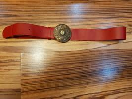Genuine leather belt, women's belt, handmade belt,gift for her,unique be... - $29.00