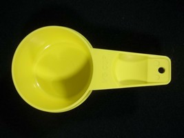 Tupperware Yellow Measuring Cup 1/3 Replacement Vintage - $5.89