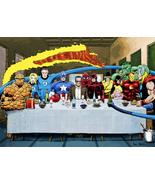Marvel: Stan Lee's Last Supper! - Art Print/Poster (various sizes) - $19.99+