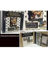 University of Washington Complete Scrapbook NWT Fast Easy Blue Collegiat... - $10.99