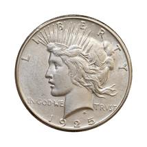1925 S Peace Silver Dollar - Choice BU / MS / UNC - $92.00