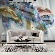 """3D Wallpaper """"Feathers"""" - $35.00+"""