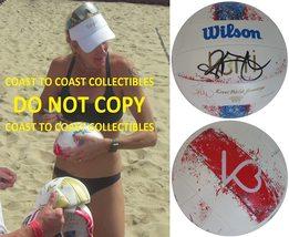 Kerri Walsh Jennings USA Olympic signed autographed Beach Volleyball pro... - $249.99