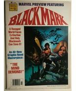 MARVEL PREVIEW #17 Blackmark by Gil Kane (1979) Marvel Comics B&W magazi... - $9.89