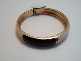 Talbots Navy & Ivory Enamel Rhinestone Bangle Bracelet New With Tags image 6