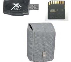 Case +16GB Card + Reader For Panasonic DMC-LF1 DMC-LF1K DMC-LF1W DMC-ZS25 ZS25K - $13.56