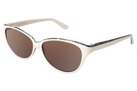 Authentic Ann Taylor Sunglasses AT505 C03 Cream Leopard Frames Brown Len... - $49.49
