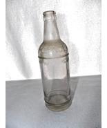 Vintage Knox Pop Kola Soda Clear Glass Bottle Embossed 12 Oz. - $11.12
