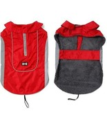 TDC Dog Jacket Waterproof Pet Clothes Winter Warm Large Dog Coat With H... - $19.85