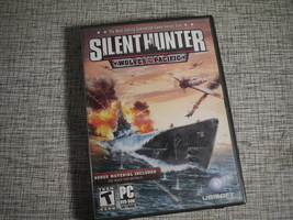 Silent Hunter Wolves of the Pacific 2003 PC DVD Submarine War Game - $14.25
