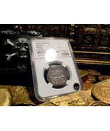 """SPAIN 4 REALES """"DATED 1622"""" ATOCHA YEAR SILVER PIRATE COIN TREASURE DOUB... - $2,495.00"""
