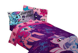 Hasbro My Little Pony The Stars are Out Sheet Set, Twin - $22.99