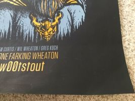 Stone Farking Wheaton Woot Stout Used Poster craft beer brewery brewing image 4