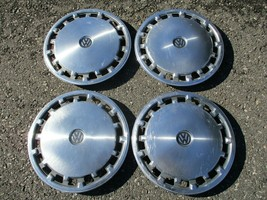 Factory 1975 to 1984 Volkswagen Rabbit 13 inch hubcaps wheel covers beaters - $55.71