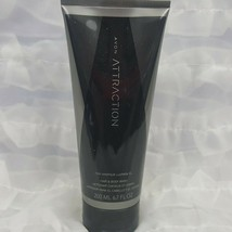 Avon Attraction Hair and Body Wash for Men Musk Sage Cardamom Ginger 6.7... - $9.75
