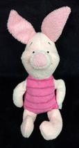 "Disney Piglet Mini Bean Bag Huggy 8"" Plush Stuffed Animal Winnie The Pooh - $36.35 CAD"