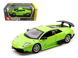2010 Lamborghini Murcielago LP 670-4 SV Green 1/24 Diecast Model Car by ... - $39.95