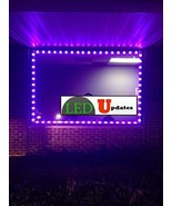 10ft Storefront Purple LED Light with UL 12v 2A AC adapter - $36.62