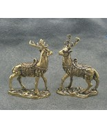 THAI MINI AMULET CHARM MAGIC DUO DEER LOVE ATTRACTION SEX APPEAL LUCKY T... - $26.39
