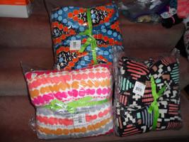 "Vera Bradley XL fleece Blanket  94"" x 66"" - choice NWT - $45.99"