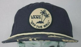 Vans Off The Wall The Original Tropical Hat Cap Navy Snapback One Size F... - $19.79