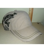 New with Tags ~ Dri*Duck Wildlife Cap ~ Bass, Fishing .. one size fits a... - $1.93