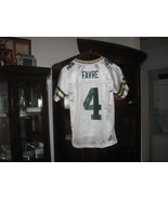 PACKERS BRETT FARVE YOUTH  ROAD JERSEY(S-8)HALL OF FAME! - $9.99