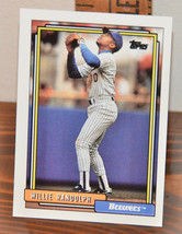New Mint Topps trading card Baseball card 1992 Brewers 116 Willie Randolph - $1.48