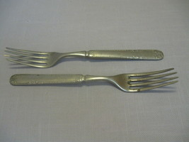 Cuvee Silver Warranted Qty 2 Dinner Forks Quaker Valley Mfg  1900-1959 - $9.95