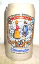Weihenstephan Freising Jahreskrug Vtg.Trachten 1L Masskrug German Beer S... - $14.95